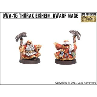 DWA-15  Thorak Eisheim, the Dwarf Mage (1)