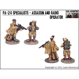 PA-24 Specialists - Assassin and Radio Operator (2)