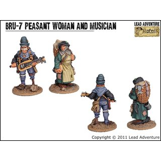 BRU-07 Peasant Woman and Musician (2)
